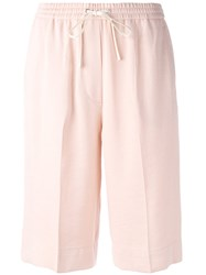3.1 Phillip Lim Culotte Shorts Pink Purple