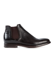 Alberto Fasciani 'Elias' Ankle Boots Brown