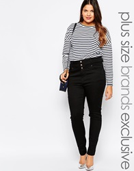 New Look Inspire Highwaisted Supersoft Skinny Jean Black