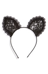 Cara Lace Cat Ears Headband