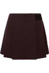Proenza Schouler Pleated Crepe Mini Skirt