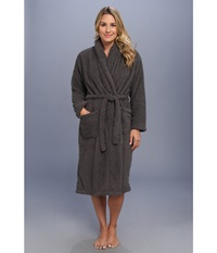 Little Giraffe Stretch Chenille Cover Up Adult Charcoal Robe Gray