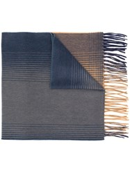 Begg And Co Striped Cashmere Scarf 60