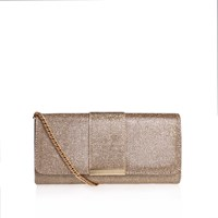 Miss Kg Talia Clutch Bag Gold