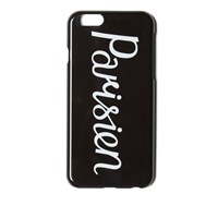Maison Kitsune Maison Kitsuna Parisien Iphone Case Black