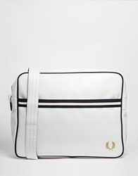 Fred Perry Classic Cross Body Bag In White