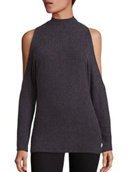 Tart Gila Cold Shoulder Sweater Charcoal