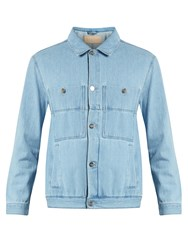 Etudes Guest Stone Denim Jacket Light Blue