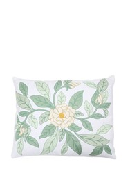 Loretta Caponi Camellia Flower Pillow