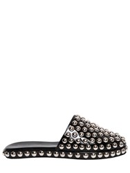 Jeffrey Campbell 10Mm Studded Patent Leather Mules