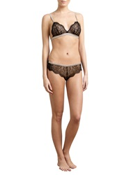 Alice By Temperley Somerset By Alice Temperley Mia Triangle Soft Cup Bra And Brief Set Vanilla Black