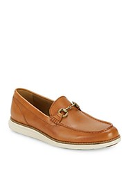 Cole Haan Original Grand Leather Loafers Pecan Ivory