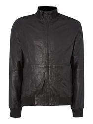 Label Lab Highland Funnel Neck Bomber Black