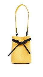 Truss Embellished Party Bag Yellow
