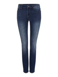 Armani Exchange J01 Mid Rise Super Skinny Jean Denim Indigo