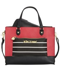 Betsey Johnson Bag In A Bag Tote Red