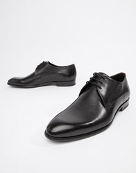 Hugo Appeal Derby Leather Shoes In Black