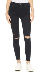 J Brand High Rise Alana Crop Jeans Blue Mercy