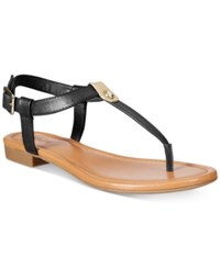 Styleandco. Style Co. Baileyy Thong Sandals Only At Macy's Women's Shoes Black