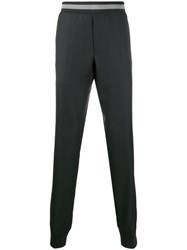 Lanvin Tapered Tailored Trousers Grey