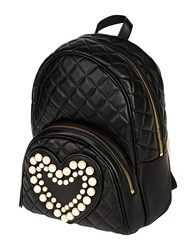 Boutique Moschino Backpacks And Fanny Packs Black