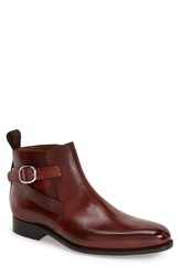 Carlos Santos 'Rivera' Double Strap Boot Men's Plum