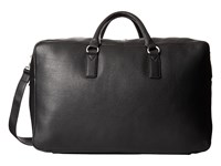 Marc By Marc Jacobs Classic Leather Weekender Black 1 Weekender Overnight Luggage