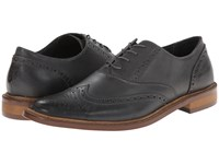 Original Penguin Brogue Wt Charcoal Men's Lace Up Wing Tip Shoes Gray