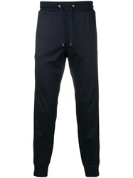 Paul Smith Ps Striped Sided Track Pants Blue
