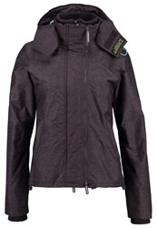 Superdry Light Jacket Mid Charcoal Marl Cool Green Anthracite