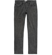 Nn.07 Nn07 Three 1793 Slim Fit Stretch Denim Jeans Dark Gray