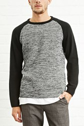 Forever 21 Marled Knit Raglan Sweater