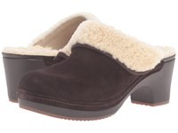Crocs Sarah Luxe Lined Clog Espresso Women's Clog Shoes Brown