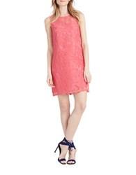 Donna Morgan Sleeveless Lace Sheath Dress Tent