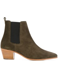 Iro Yvette Ankle Boots Women Leather 41 Green