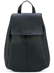 Orciani Flap Backpack Women Calf Leather One Size Black