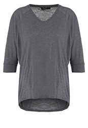 Teddy Smith Trial Basic Tshirt Anthracite Mottled Dark Grey