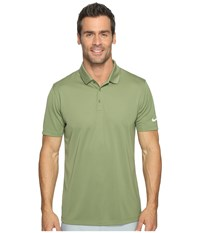 Nike Victory Solid Polo Palm Green White Men's Short Sleeve Pullover Multi