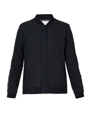 Julien David Wrinkled Cotton Bomber Jacket