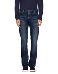 Paul And Shark Denim Denim Trousers Men Blue