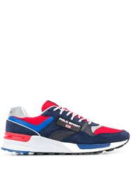 Ralph Lauren Colour Block Sneakers Blue