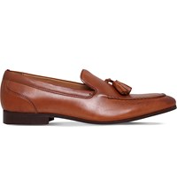 Kg By Kurt Geiger Coleman Leather Loafers Tan