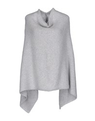 Bruno Manetti Capes And Ponchos Light Grey