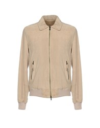 Gold Case By Rocco Fraioli Jackets Beige
