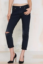 Nasty Gal Levi's 501 Ct Jeans Sunfade Black