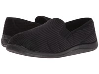 Foamtreads Ascot Charcoal Corduroy Slippers Gray