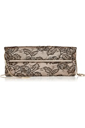 Valentino Embellished Lace Clutch Unknown