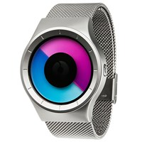 Ziiiro Celeste Watch Chrome Purple
