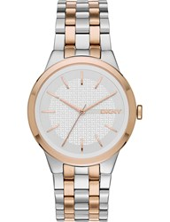 Dkny Ny2464 Park Slope Stainless Steel Watch Silver