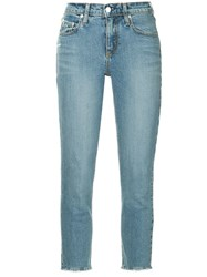 Nobody Denim Midi Jeans Blue